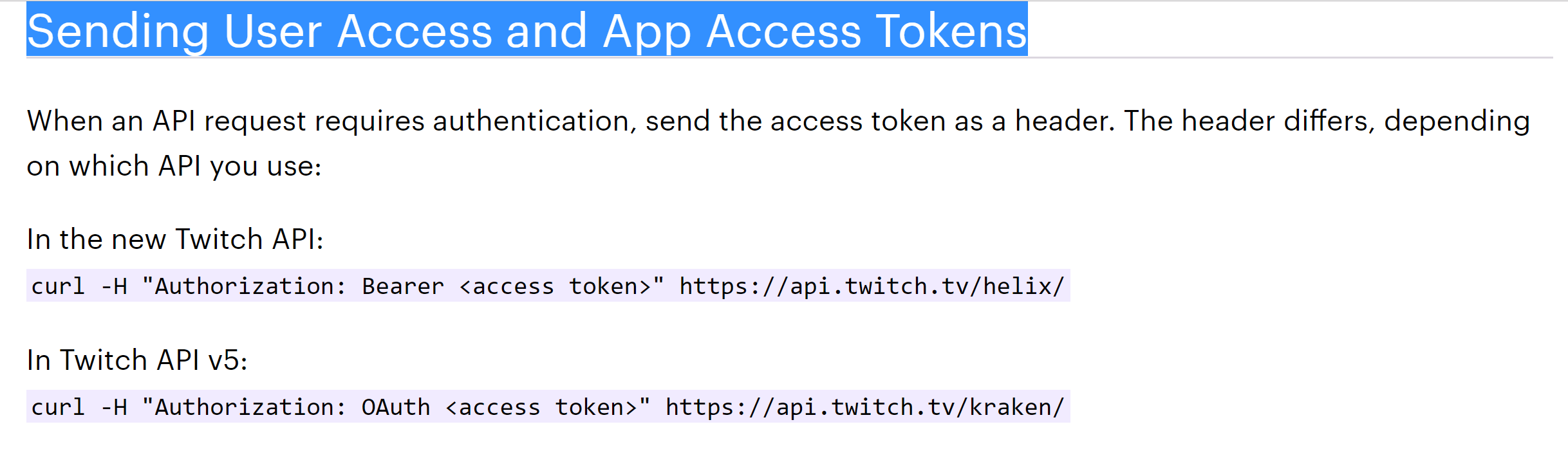 Helix Sending User Access and App Access Tokens Trouble