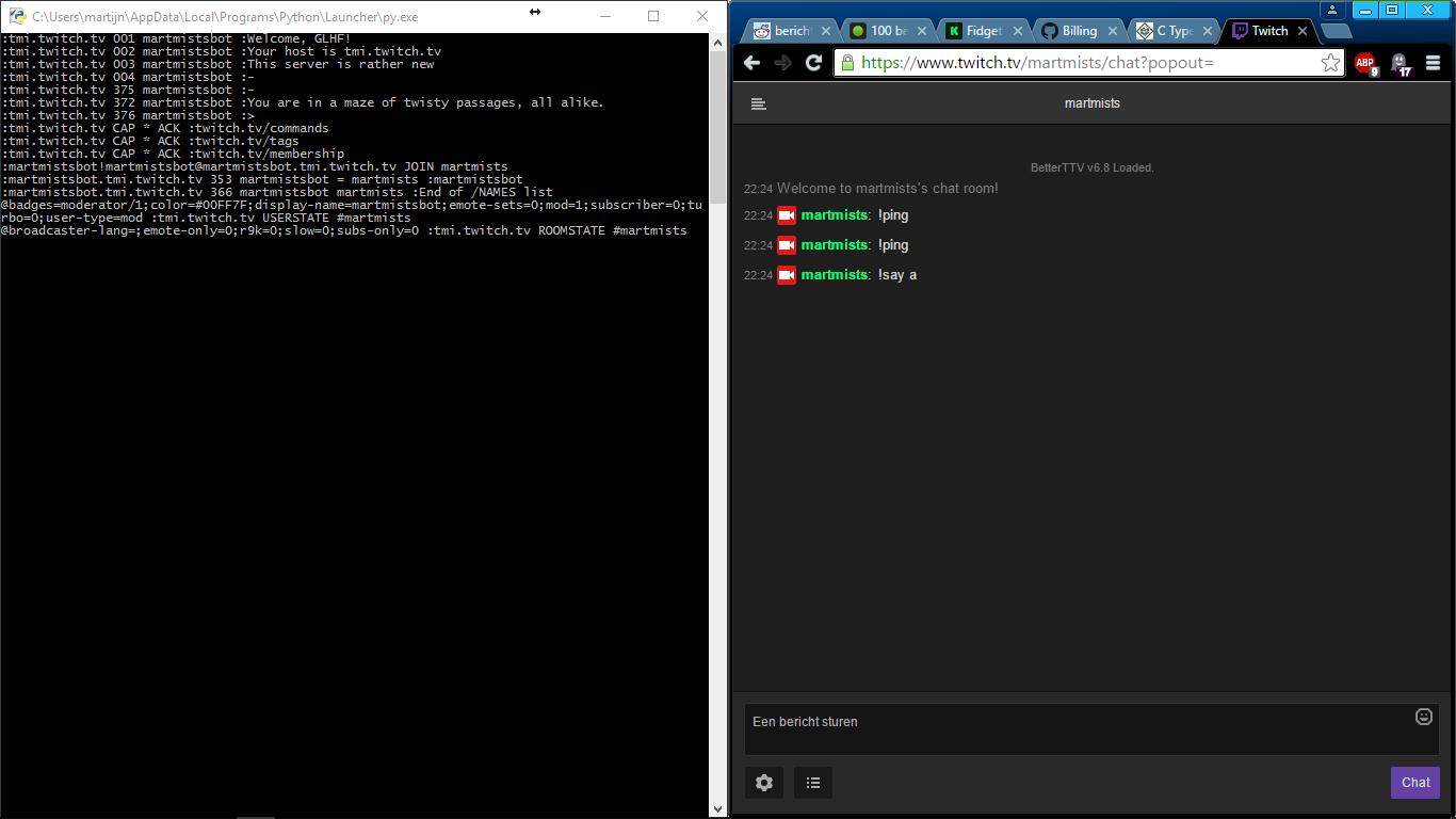 Python Chat Room Bot