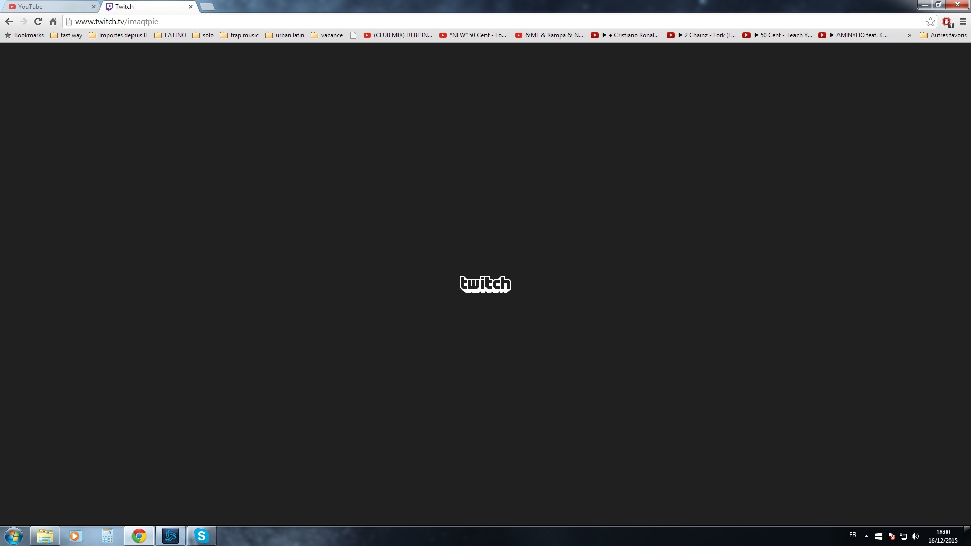 Black screen issues - API - Twitch Developer Forums