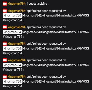 Twitch ChatBot Multiple PRIVMSG Error