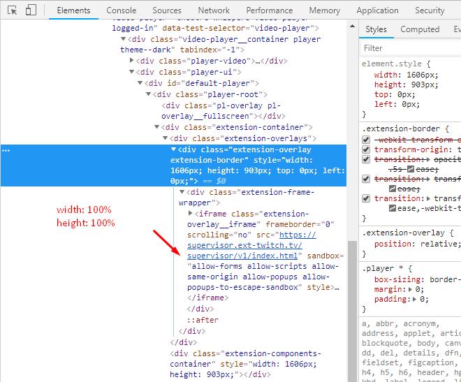 Extensions blur - Extensions - Twitch Developer Forums